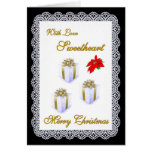 Merry Christmas / Sweetheart Greeting Cards