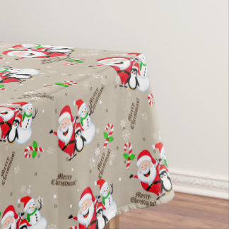 "Merry Christmas Tablecloth, 52""x70"" Tablecloth"