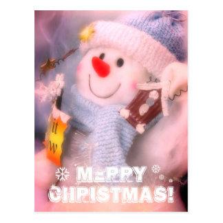 Merry Christmas!: The Snowman Postcard