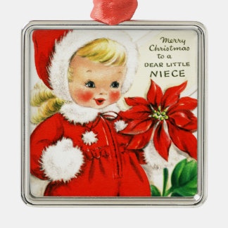 Merry Christmas To a Dear Little Niece Christmas Ornament