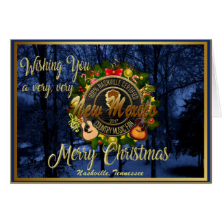 Merry Christmas to a New Mexico Country Music Fan Card