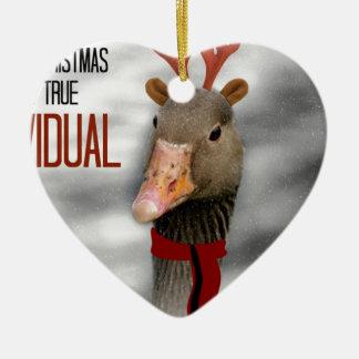 Merry Christmas to a True Individual Christmas Ornament