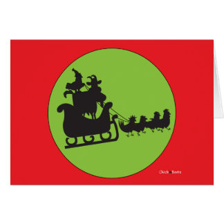 Merry Christmas to All and To All a Goodnight! Card