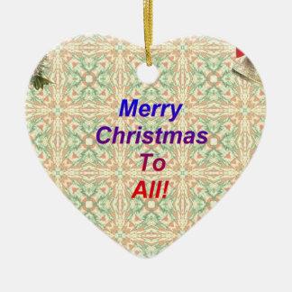 Merry Christmas To All Christmas Ornament