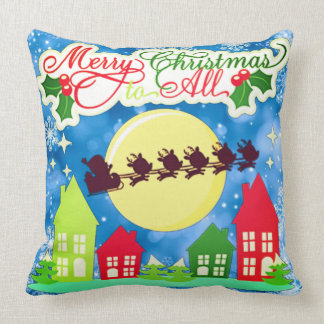 Merry Christmas To All Cushion