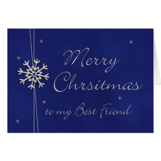 Merry Christmas to my Best Friend Card
