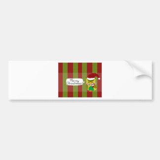 "Merry Christmas to ""Owl"" Bumper Sticker"