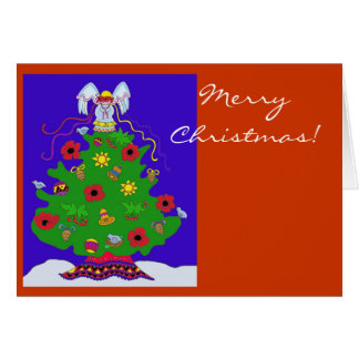 Merry Christmas to Personalize Greeting Cards