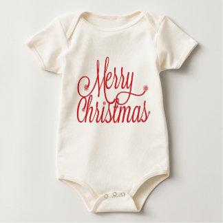 Merry Christmas toddler Baby Bodysuit