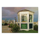 Merry Christmas Toll Booth with view of San Diego Card