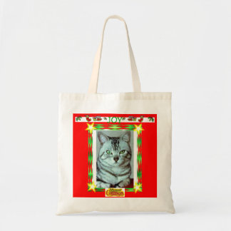 Merry Christmas Tote Canvas Bags
