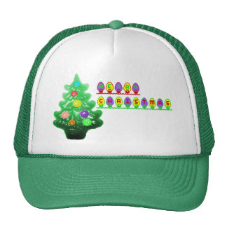 Merry Christmas Tree Cap