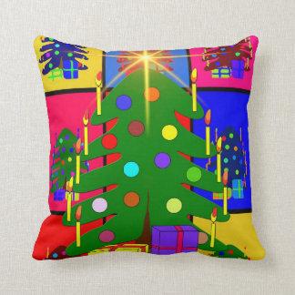 Merry Christmas Tree Cushion