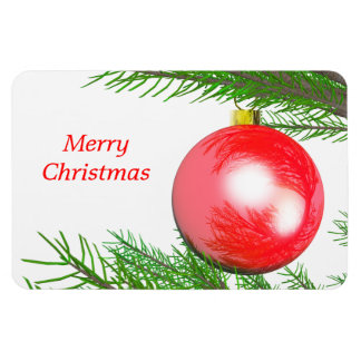 Merry Christmas Tree Decoration Magnet