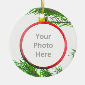 Merry Christmas Tree Decoration (photo frame)