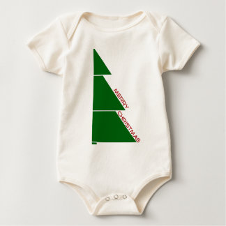 Merry Christmas Tree - Infant Baby Creeper