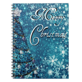 Merry Christmas Tree Notebooks