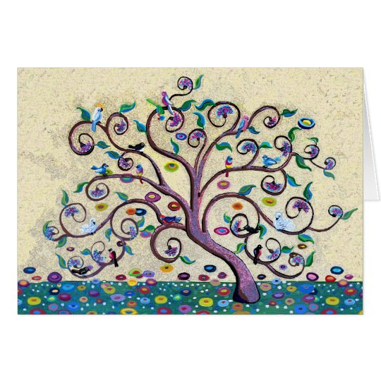 Merry Christmas Tree of Life Card