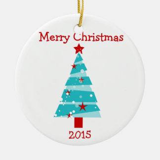 Merry Christmas Tree ornament 2015