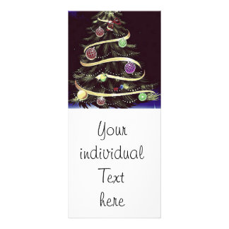 Merry Christmas, tree Personalized Rack Card