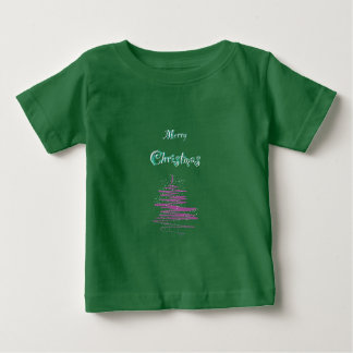 Merry Christmas Tree Snowflakes Baby's T-shirts