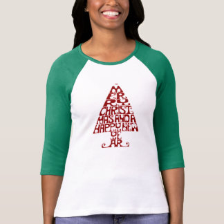 Merry Christmas Tree Women's Long Sleeve T Shirt