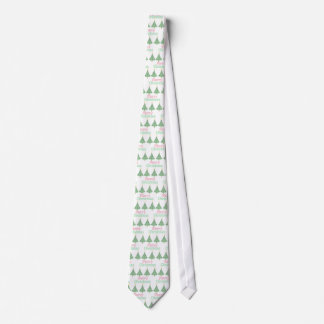 Merry Christmas Trees Holiday Tie