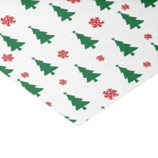 Merry Christmas Trees Tissue Paper