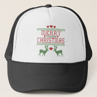 Merry Christmas Trucker Hat