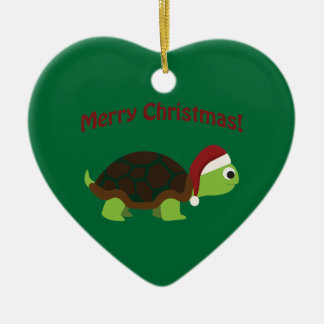 Merry Christmas! Turtle Christmas Ornament