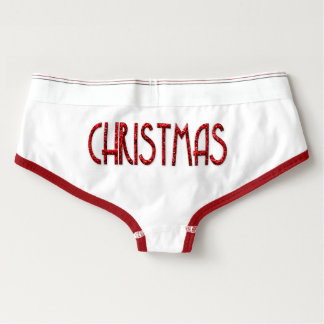 Merry Christmas Underwear Boyshorts