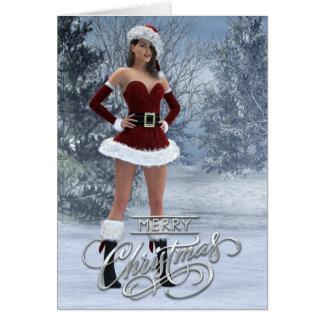 Merry Christmas Vicky Card
