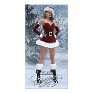 Merry Christmas Vicky Custom Photo Card