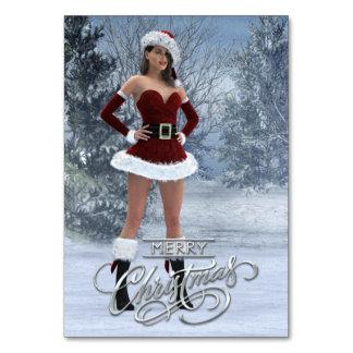 Merry Christmas Vicky Table Card