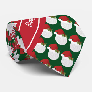 Merry Christmas Volleyball Tie