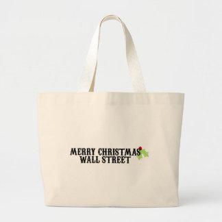 Merry Christmas Wall Street Bags