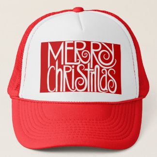 Merry Christmas White Hat