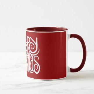 Merry Christmas White Mug
