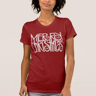 Merry Christmas White T-shirt