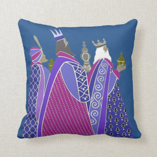 Merry Christmas - Wise Men Pillow Cushions