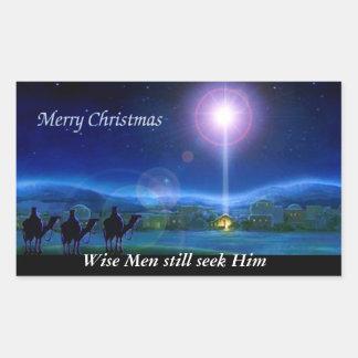 Merry Christmas - Wise men still seek Him sticker
