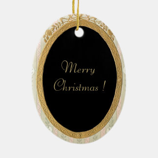 """ Merry Christmas_With You in My Heart"" "" Ornament"