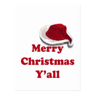 Merry Christmas Y all Post Cards