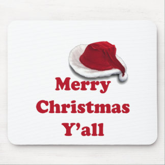 Merry Christmas Y'all! Mouse Pad