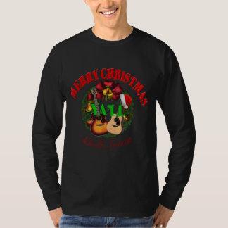 Merry Christmas Ya'll Nashville Men's Long Sleeve T-Shirt