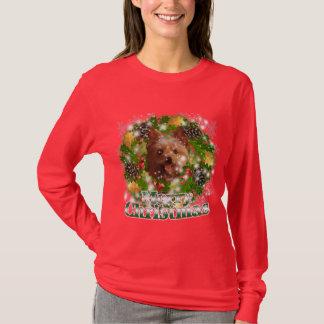 Merry Christmas Yorkie T-Shirt