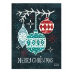 Merry Christmastime Ornaments Postcard