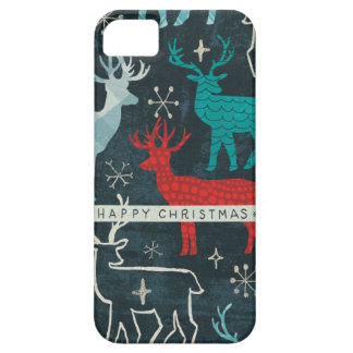 Merry Christmastime Reindeer iPhone 5 Case