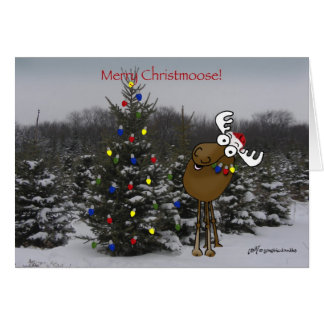 Merry Christmoose! Card