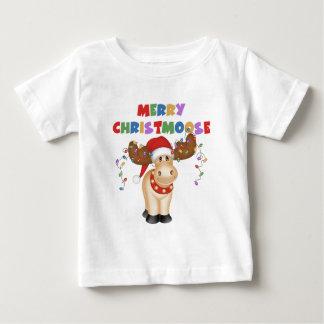 Merry Christmoose Christmas Baby T-Shirt
